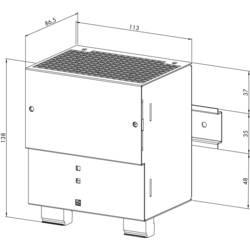 Strømforsyning til DIN-skinne (DIN-rail) WAGO 787-633 53.8 V/DC 5 A 240 W