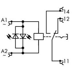 Industrijski relej 1 komad WAGO 789-1544 Nazivni napon: 230 V/AC struja prebacivanja (maks.): 12 A 1 izmjenjivač