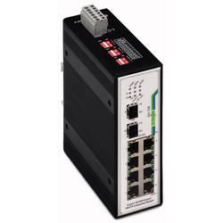 Mrežni prekidač, neupravljački WAGO 852-103 broj Ethernet portova 10, brzina LAN prijenosa 100 MBit/s radni napon 12 V/DC, 24 V/