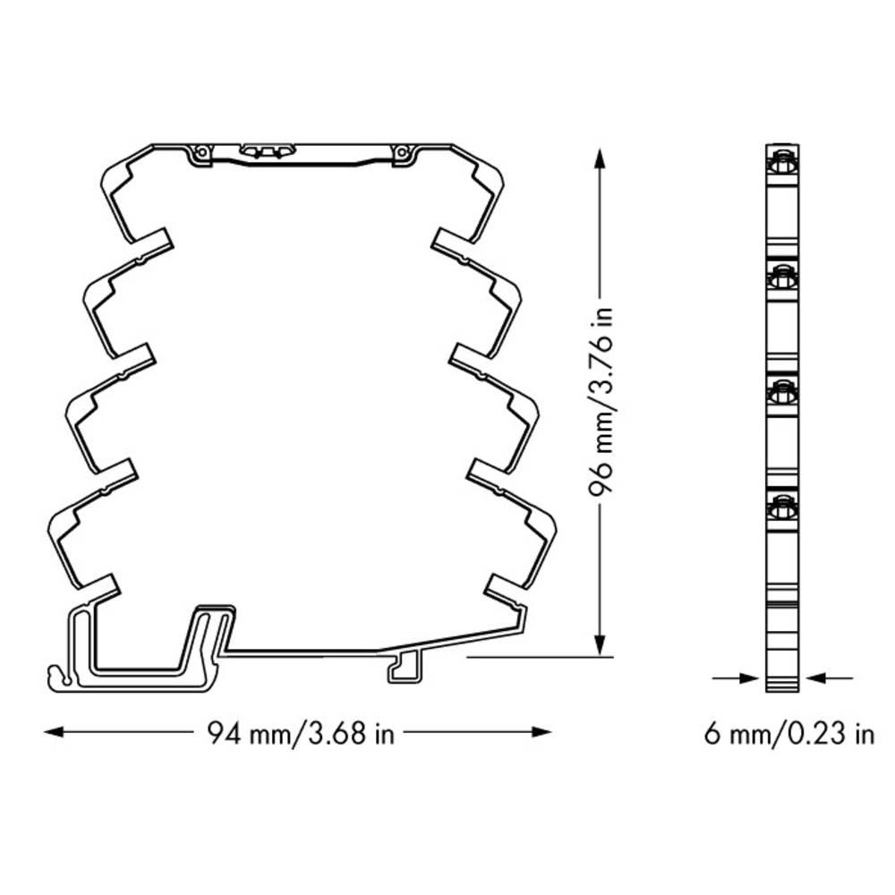 JUMPFLEX®-pretvornik; razdelilni ojačevalnik; nastavljen za napetostne signale WAGO 857-415 kataloška številka 857-415 1 kos