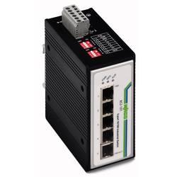 Mrežni prekidač, neupravljački WAGO 852-101 broj Ethernet portova 5, brzina LAN prijenosa 100 MBit/s radni napon 12 V/DC, 24 V/D