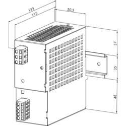 Strømforsyning til DIN-skinne (DIN-rail) WAGO 787-692 33 V/DC 3 A 91.5 W