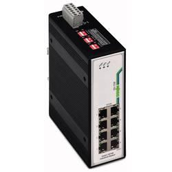 Mrežni prekidač, neupravljački WAGO 852-102 broj Ethernet portova 8, brzina LAN prijenosa 100 MBit/s radni napon 12 V/DC, 24 V/D