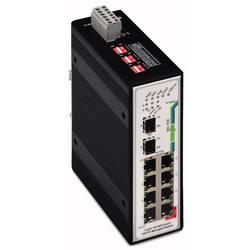 Mrežni prekidač, upravljački WAGO 852-104/040-000 broj Ethernet portova 9, brzina LAN prijenosa 100 MBit/s radni napon 12 V/DC,