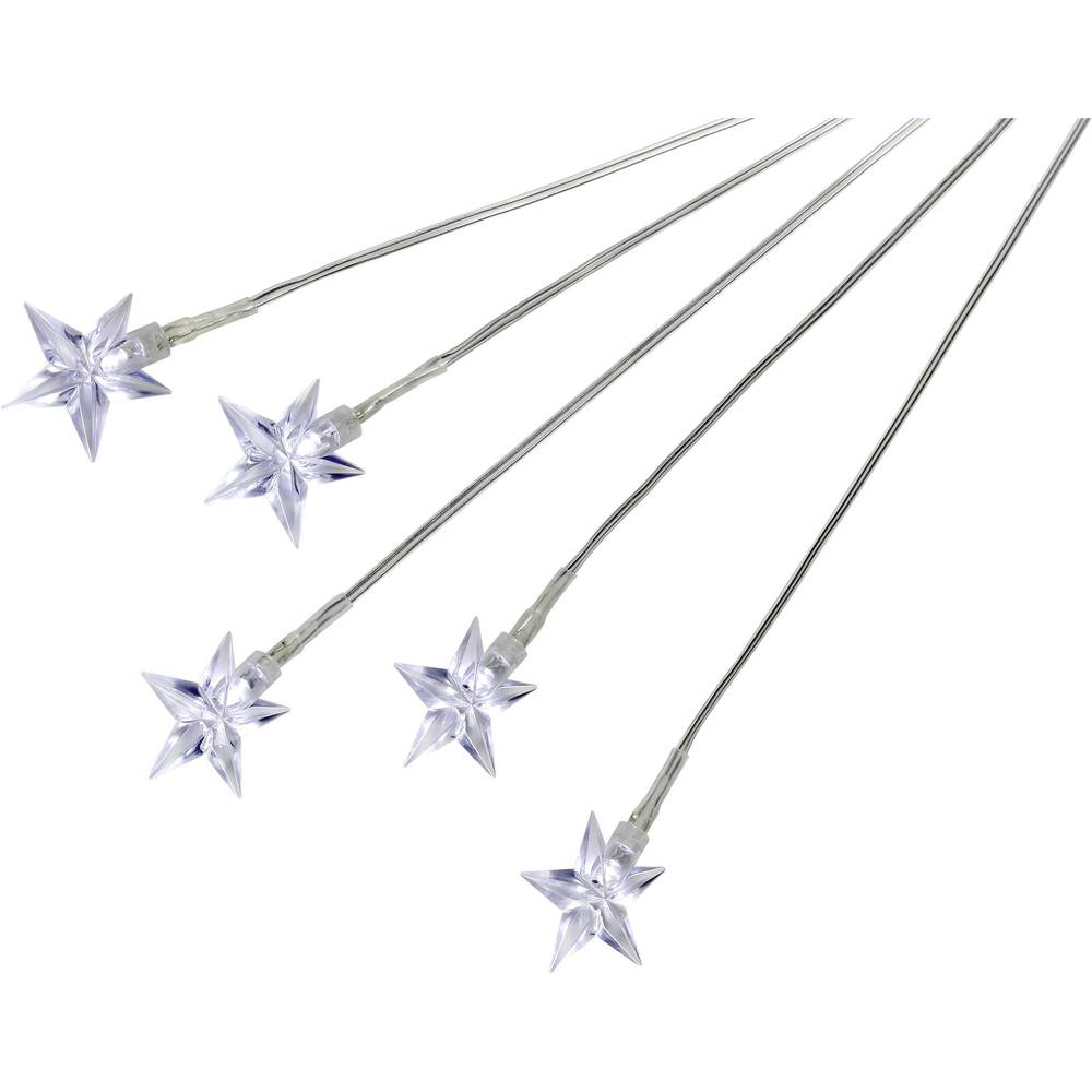 Zvezde LED-dekoracija za tla, za uporabo na prostem 11-C097 Conrad