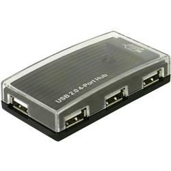 4-portni USB 2.0 hub crni