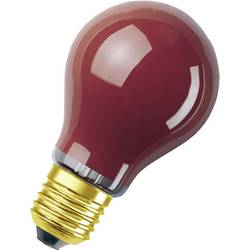 Glödlampa E27 OSRAM E27, 25 W DECOR-GLÜHLAMPE 11 W 7 lm Päronform Röd 1 st