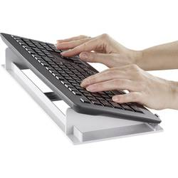 KEHI ergonomska tipkovnica, stojalo, držalo za tipkovnico, upravitelj tipkovnice, tipkovnični pladenj , siv
