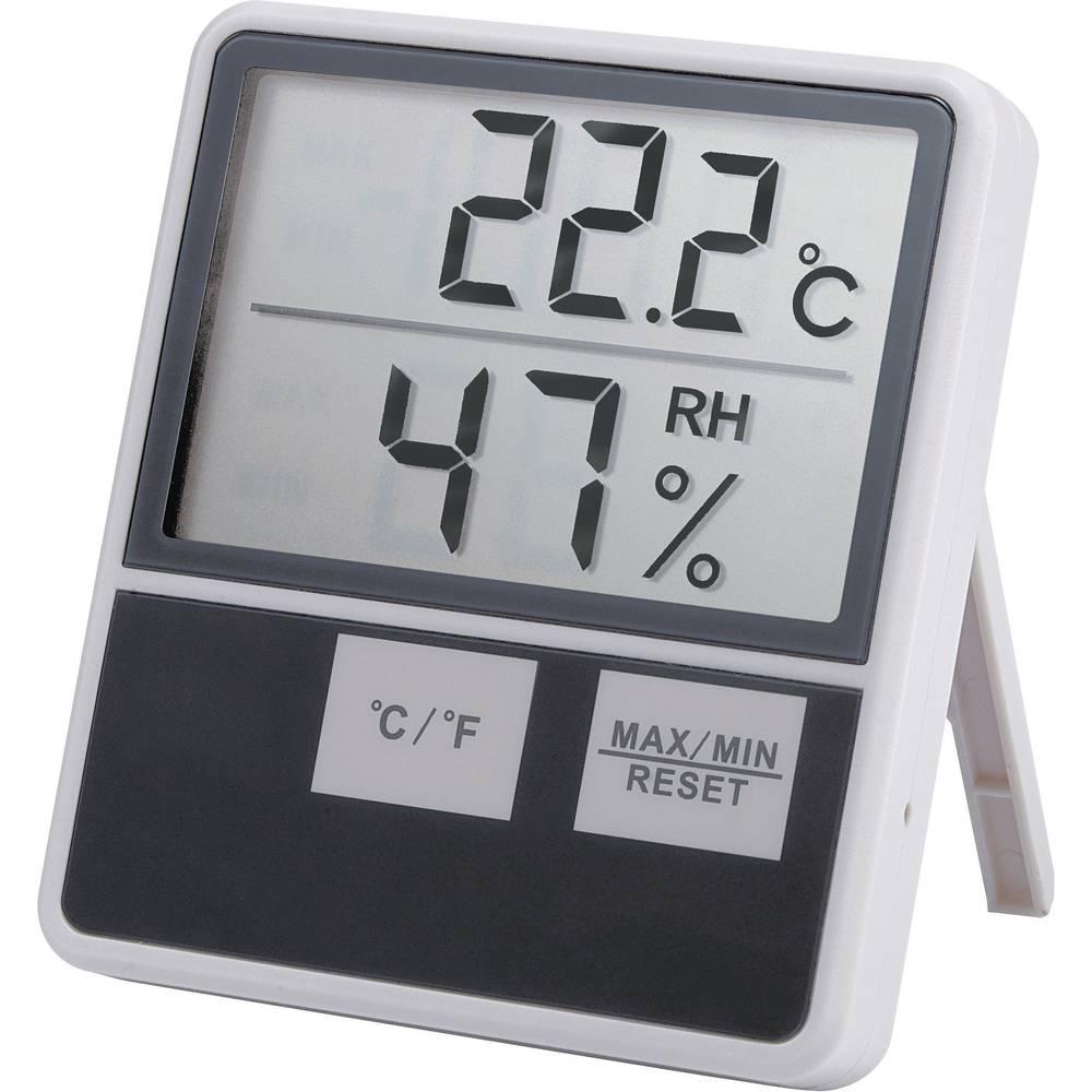 Velik mjerač unutarnje temperature/vlage u zraku 1014 Conrad