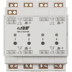 HomeMatic 91836 brezžični preklopni modul 4-kanalni za DIN-letev 3680 W