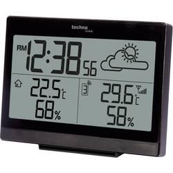 Brezžična vremenska postaja Techno Line, črne barve