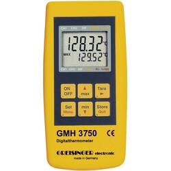 Greisinger GMH 3750-GE Mjerač temperature Kalibriran po DAkkS -199.99 Do +850 °C Tip tipala Pt100