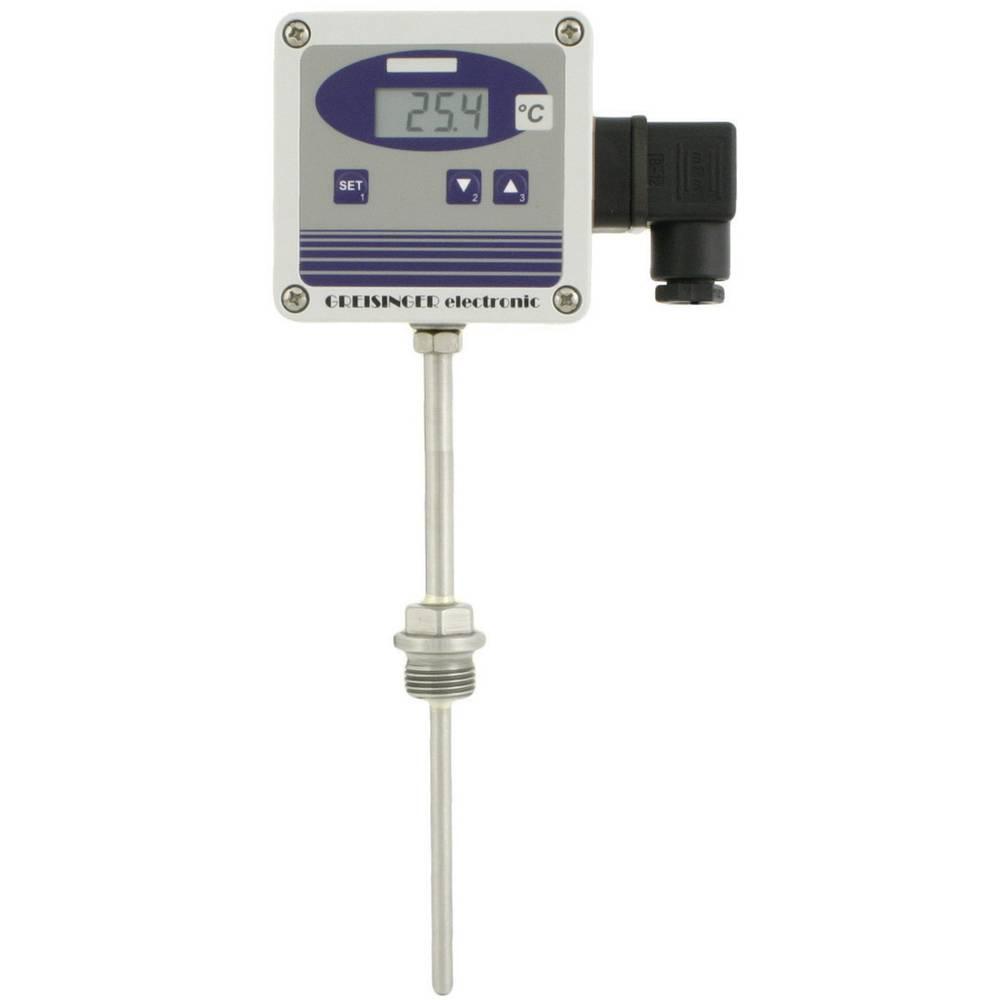 Temperaturni merilni pretvornik Greisinger GTMU-MP, izvedba 2 -50 do +400 °C vrsta tipala: Pt1000 kalibracija narejena po: delov