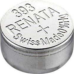 Gumbasta baterija 393 srebro-oksidna Renata SR48 pogodna za jaku struju 80 mAh 1.55 V 1 kom.