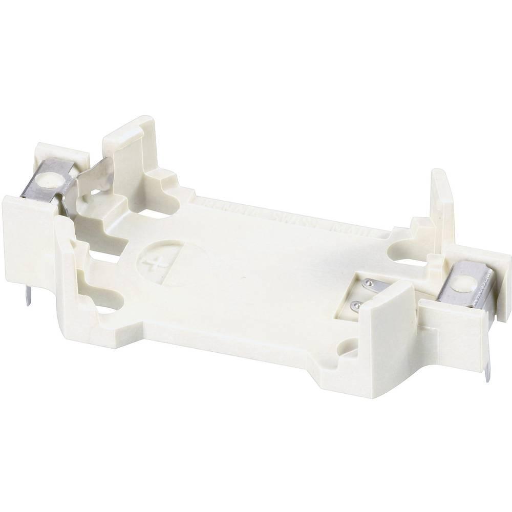 Držač gumbastih baterija Renata HU2450N-LF za CR2450N lemni zatik, horizontalni (D x Š x V) 33 x 24.5 x 7.3 mm