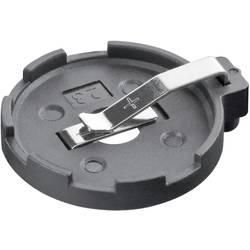 Držalo za gumbno baterijo s print priključkom, vodoravno 23 mm CR 2320, CR 2325, CR 2330, CR 2354 Goobay