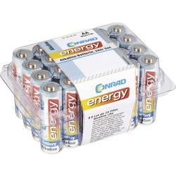 Mignon (AA) baterija, alkalno-manganska Conrad energy LR06 1.5 V 24 kom.