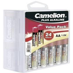 Batteri R6 (AA) Alkaliskt Camelion Plus LR06 2800 mAh 1.5 V 24 st