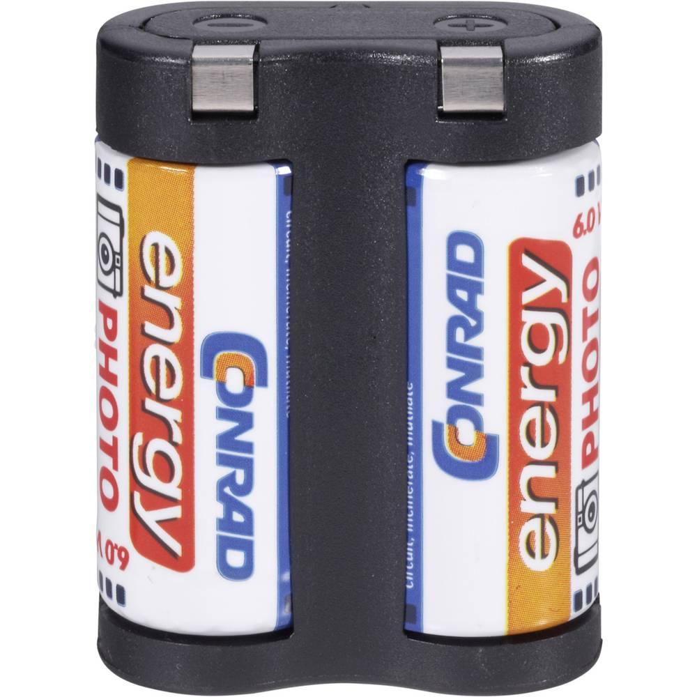 Baterija za fotoaparat 2CR5 litijeva Conrad energy 2 CR 5 1400 mAh 6 V 1 kos