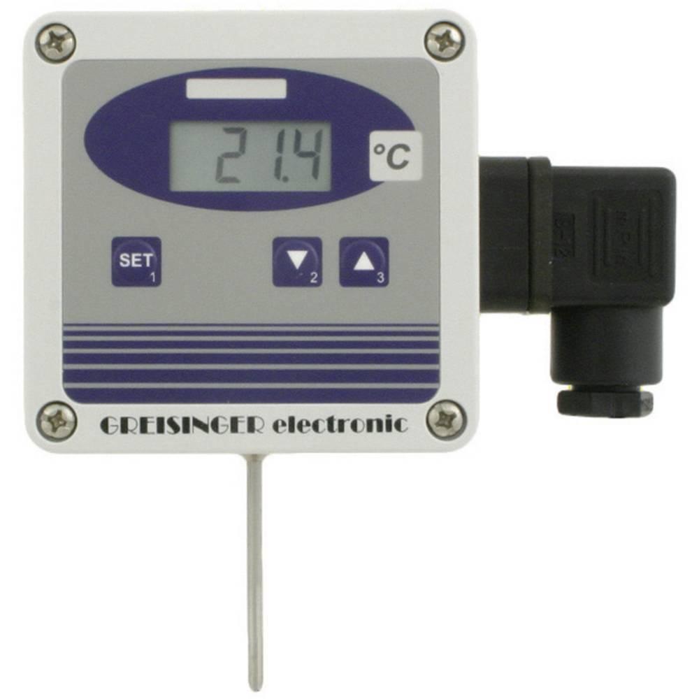 Temperaturni merilni pretvornik Greisinger GTMU-MP, izvedba 3 -50 do +400 °C vrsta tipala: Pt1000 kalibracija narejena po: delov