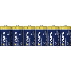 Varta Longlife LR20 mono (l) baterija alkalno-manganov 15800 mAh 1.5 V 6 St.