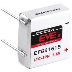 Posebna litijeva baterija EVE LTC-3PN, 4 x spajkalni zatič 3.6 V 400 mAh 17.8 x 16.85 x 14.6 mm LTC-3PN, EF651615