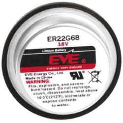 Posebna litijeva baterija EVE ER22G68, 2 x spajkalni zatič 3.6 V 400 mAh (Ø x V) 22.6 mm x 12.5 mm ER22G68