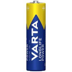 Batteri R6 (AA) Alkaliskt Varta Longlife Power LR06 2960 mAh 1.5 V 4 st