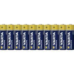 Batteri R6 (AA) Alkaliskt Varta Longlife LR06 1.5 V 8 st