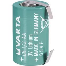 Posebna litijeva visokonapetostna baterija Varta CR 1/2 AA LF, U-spajkalni priključek 3 V 970 mAh CR 1/2 AA LF