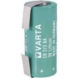 Posebna litijeva visokonapetostna baterija Varta CR 2/3 LF, U-spajkalni priključek 3 V 1350 mAh CR 2/3 AA LF