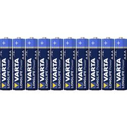 Varta Longlife Power LR03 micro (AAA) baterija alkalno-manganov 1.5 V 10 St.