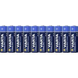 Batteri R6 (AA) Alkaliskt Varta Longlife Power LR06 2960 mAh 1.5 V 10 st