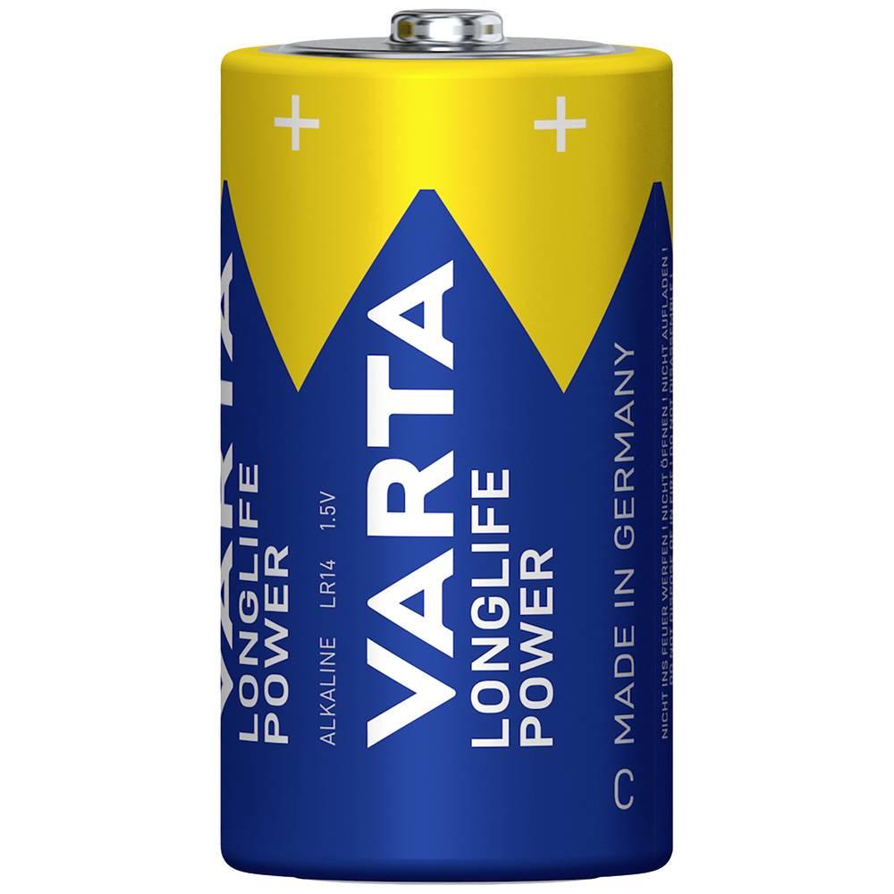 Baby (C)-baterija alkalno-manganova Varta High Energy LR14 1.5 V 2 kosa