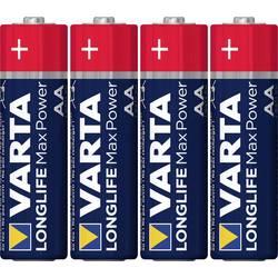 Batteri R6 (AA) Alkaliskt Varta Max Tech LR06 1.5 V 4 st