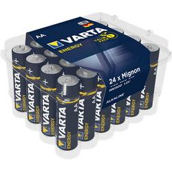 Mignon baterija (AA) alkalno-manganova Varta Energy LR06 1.5 V 24 kosov