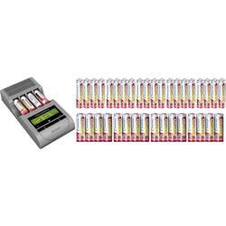 Polnilna naprava za okrogle baterije, vključno z akumulatorji VOLTCRAFT Charge Manager CM410 Micro (AAA), Mignon (AA)