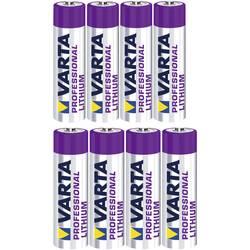 VARTA Komplet 4 Micro in 4 Mignon-litijeve baterije 6103301404, 6106301404