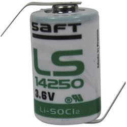 Posebna litijeva baterija Saft 1/2 AA Z-spajkalni priključek 3.6 V 1200 mAh 1/2 AA (Ø x V) 15 mm x 25 mm