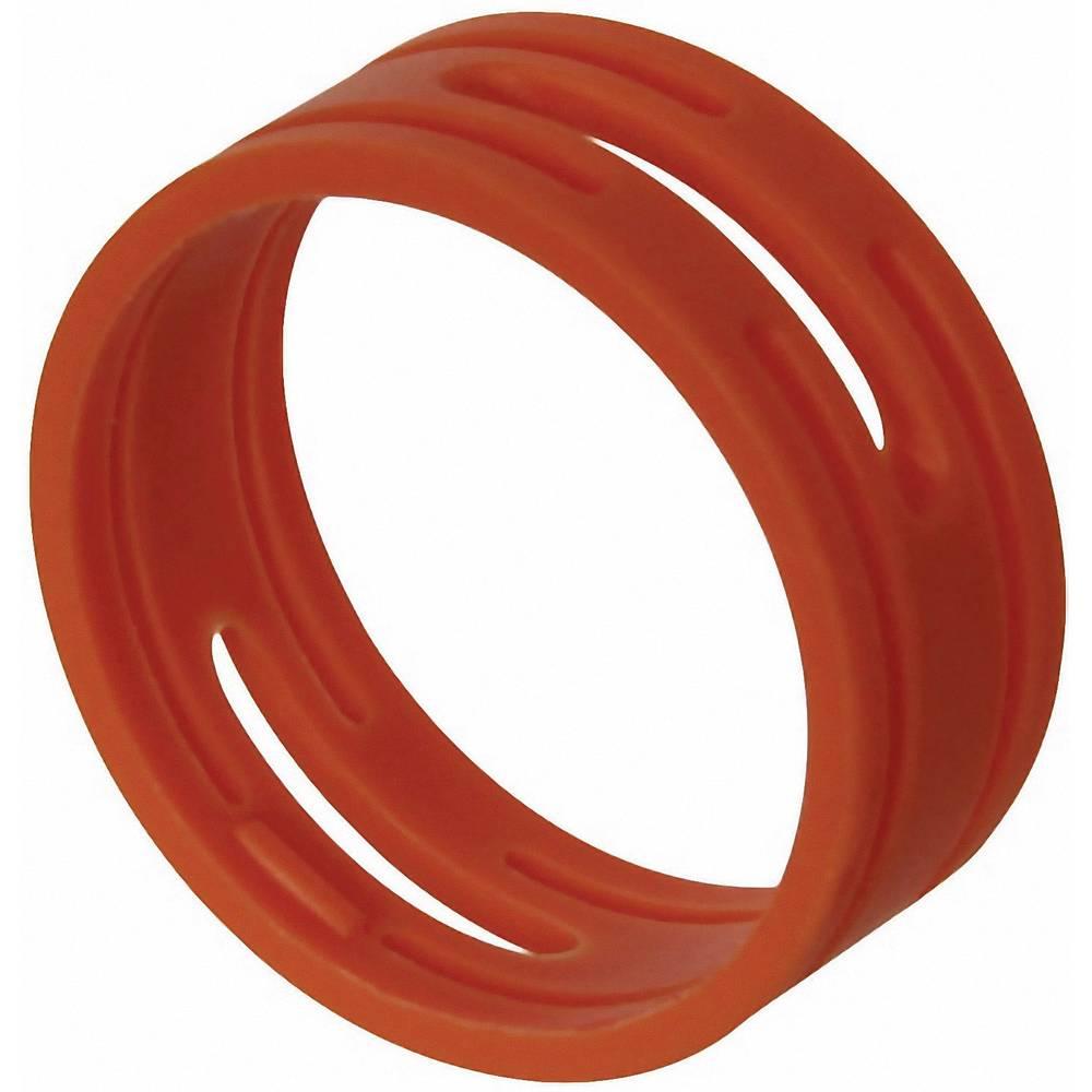 Kodirni obroč Neutrik XXR-komplet-2 rdeče barve 10 kosov