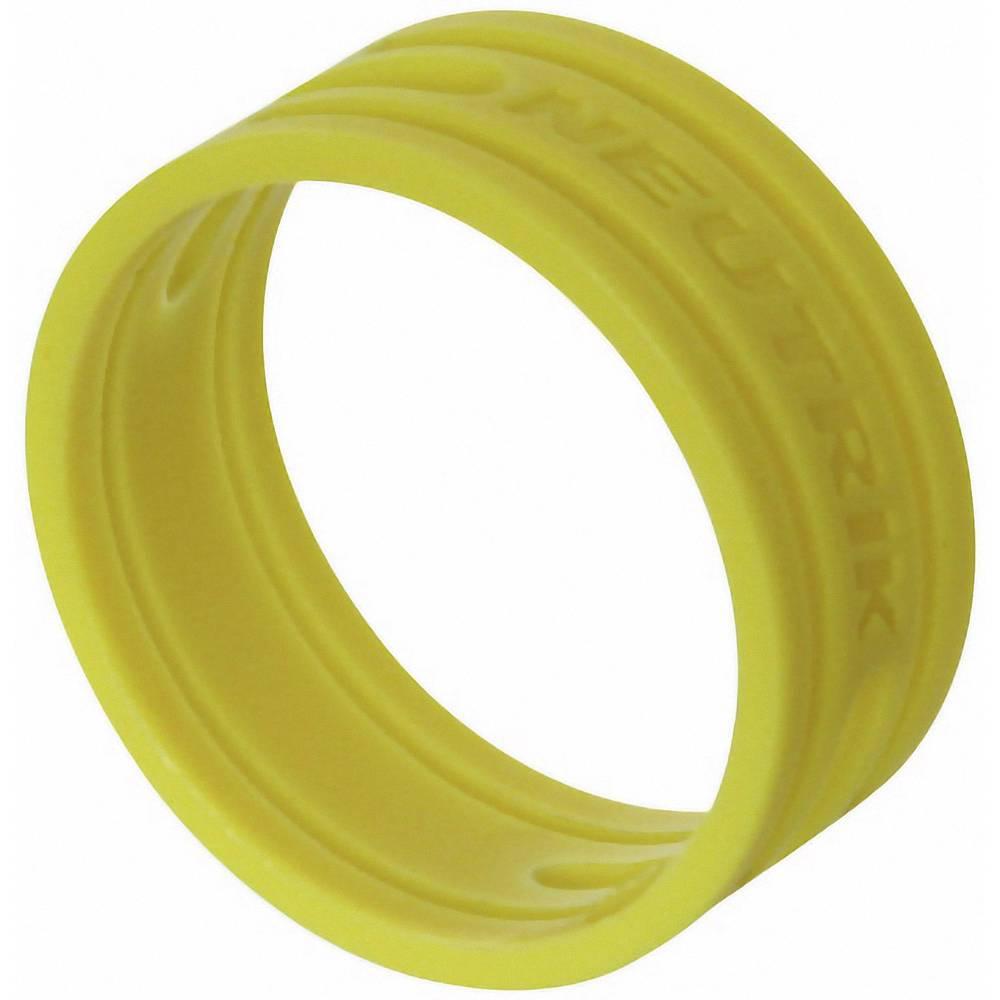 Kodirni obroč Neutrik XXR-komplet-4 rumene barve 10 kosov