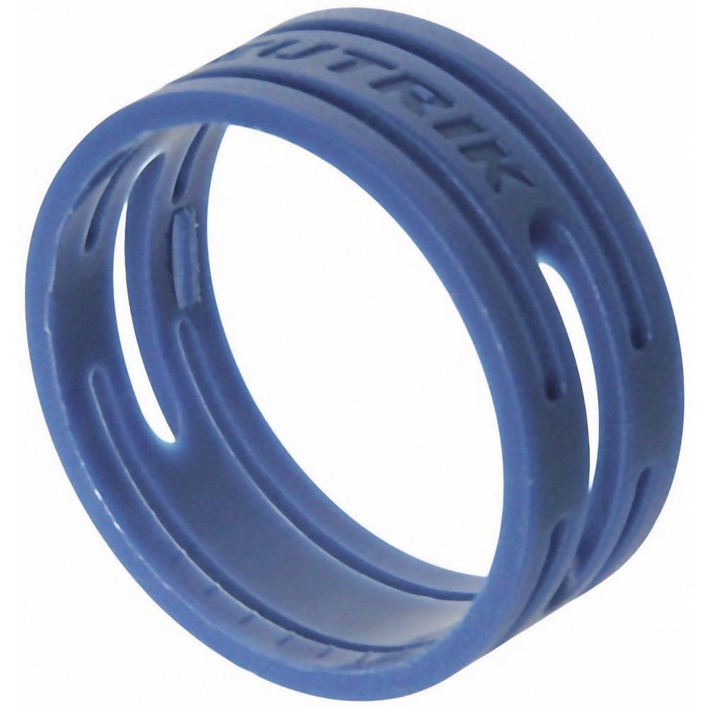Kodirni obroč Neutrik XXR-komplet-6 modre barve 10 kosov