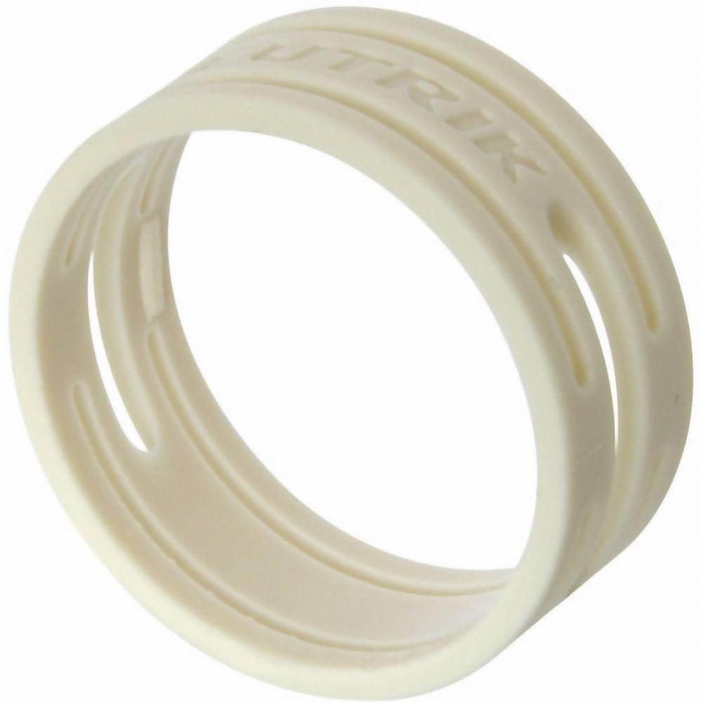 Kodirni obroč Neutrik XXR-komplet-9 bele barve 10 kosov