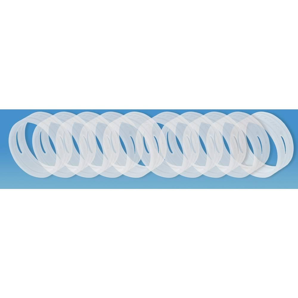 Kodirni obroč Neutrik XXCR-komplet-prozorne barve prozorne barve 10 kosov