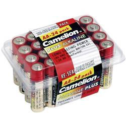 Mignon baterija (AA) alkalno-manganova Camelion LR06 1.5 V 24 kosov