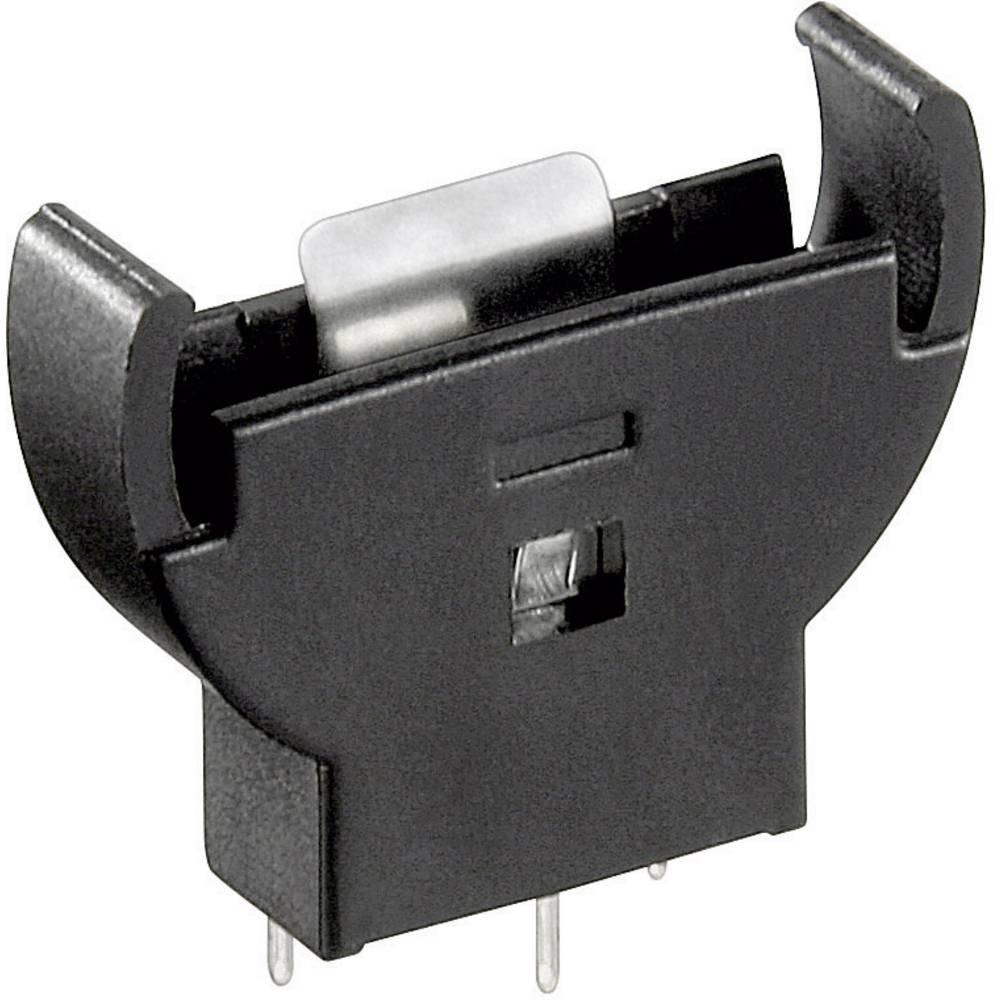 Držač gumbastih baterija Goobay za CR2032, vertikalni (Š x V x D) 26 x 28 x 7.6 mm