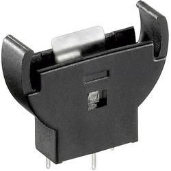 Držalo za gumbne baterije CR 2032, navpično (Š x V x D) 26 x 28 x 7.6 mm Goobay