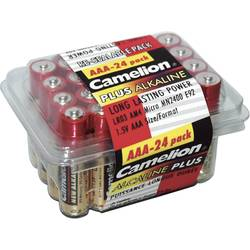 Micro baterija (AAA) alkalno-manganova Camelion LR03 1.5 V 24 kosov