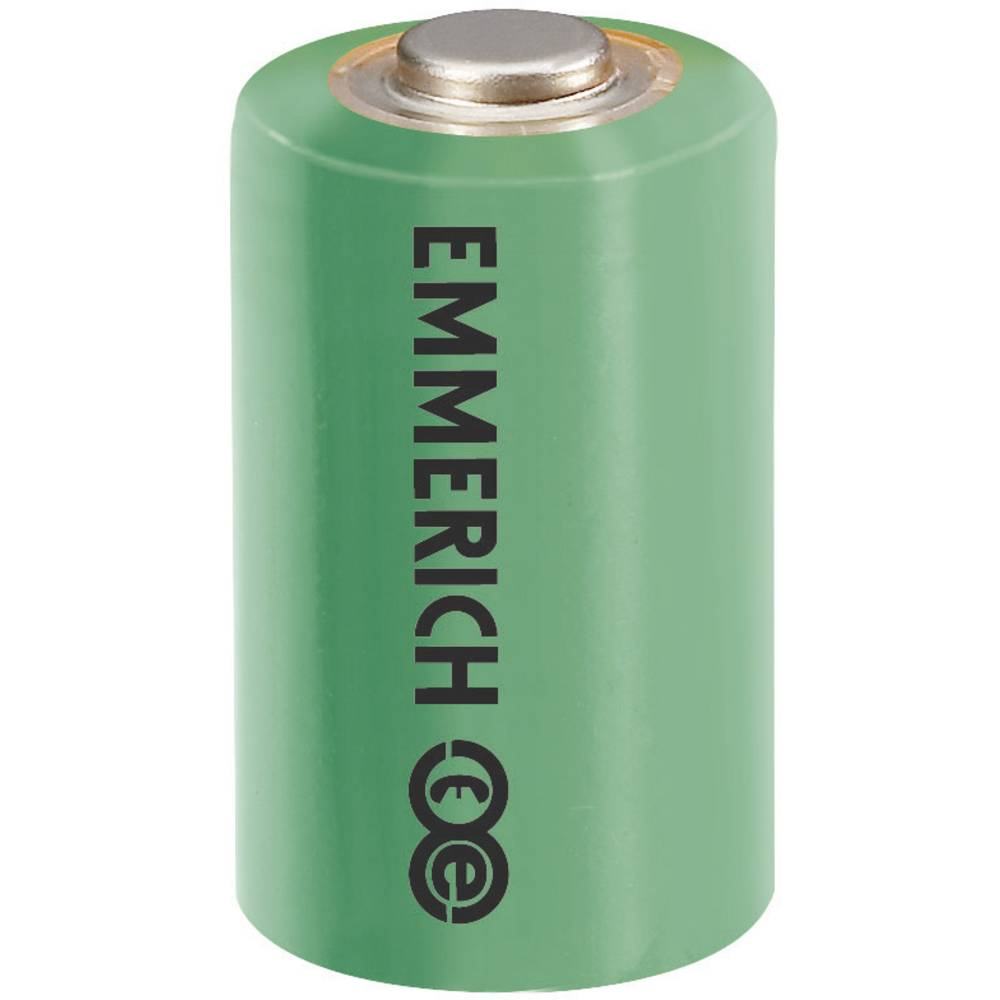 Posebna litijeva baterija Emmerich 1/2 AA 3.6 V 1200 mAh 1/2 AA (Ø x V) 14.5 mm x 25.2 mm