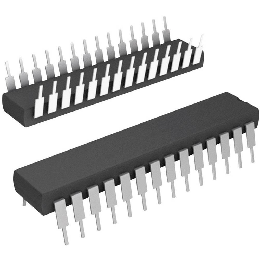 Vgrajeni mikrokontroler DSPIC33FJ128MC802-I/SP SPDIP-28 Microchip Technology 16-bitni 40 MIPS število I/O 21